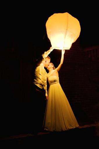 lampiony na weselu atrakcje weselne