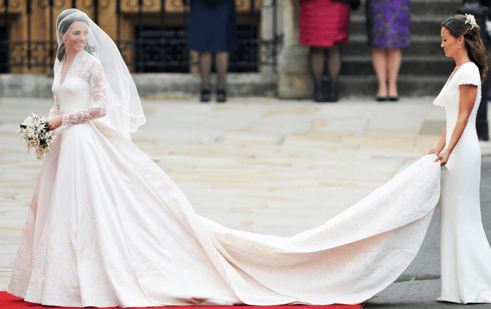 kate middleton suknia ślubna zdjęcie