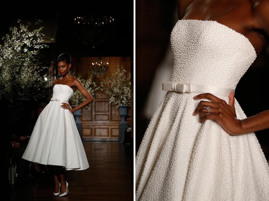 keveza suknie slubne 2014 krótka suknia slubna