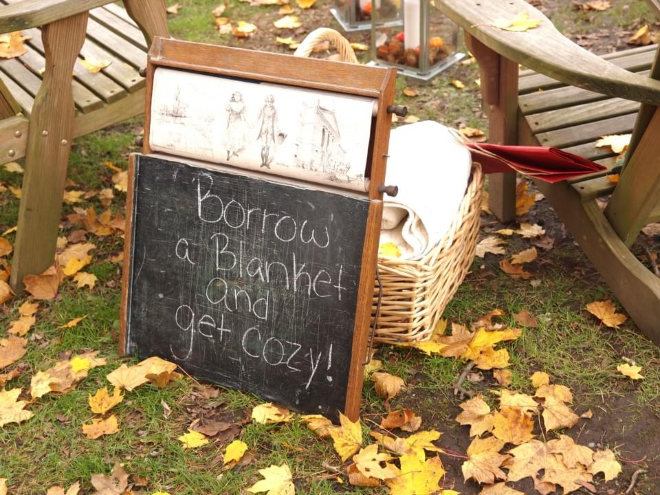 koc dekoracje ślub jesień