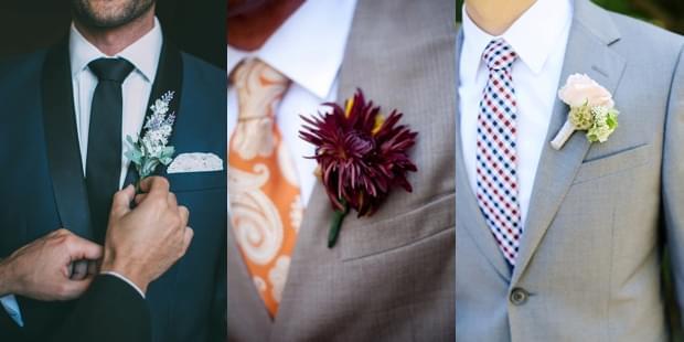 kolorowe krawaty pan mlody