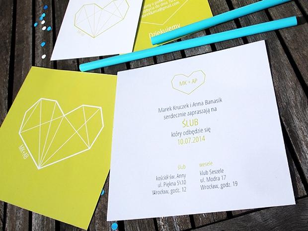 kreatywne zaproszenia ślubne papeteria nowoczesna (5)