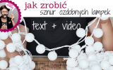 lampki zrób to sam diy