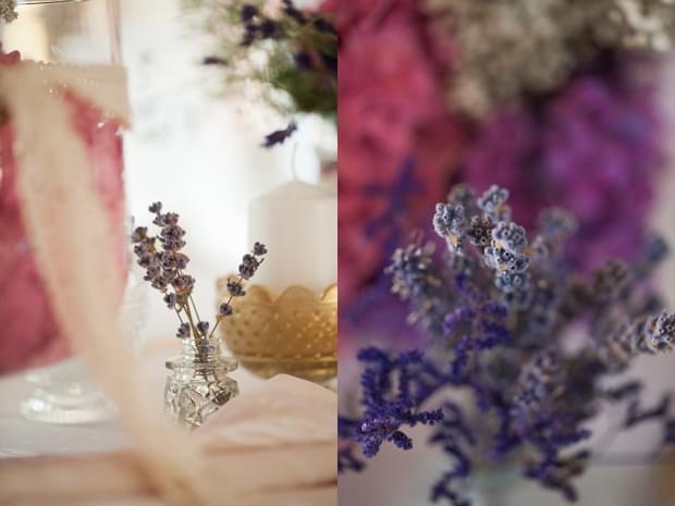 lawenda w dekoracjach ślubnych