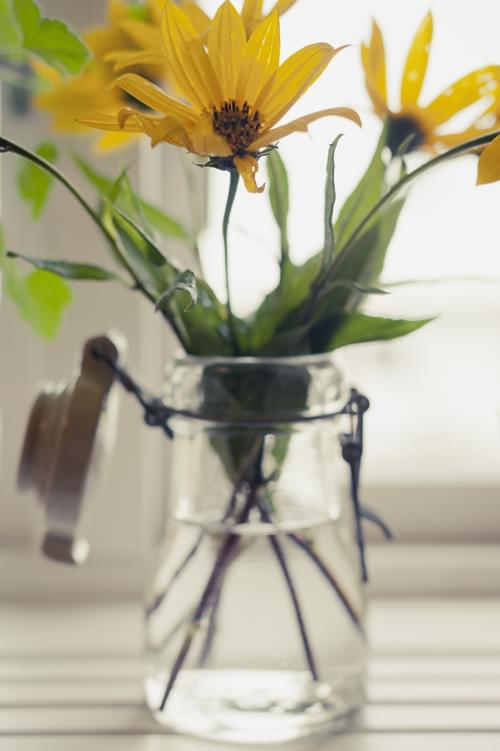 słoiki wazony szkło wesele