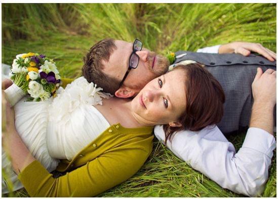 zielone dodatki do sukni ślubnej