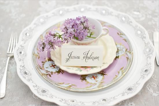 wizytówki winietki na wesele