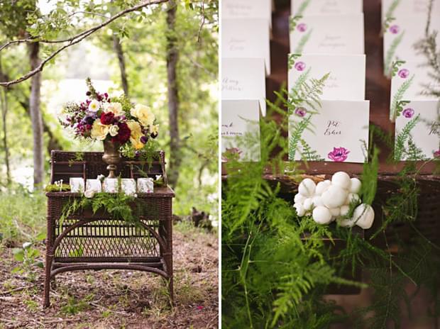 motyw przewodni ślubu natura las
