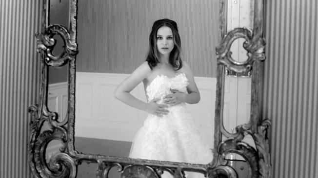 natalie portman ślub zdjęcie miss dior