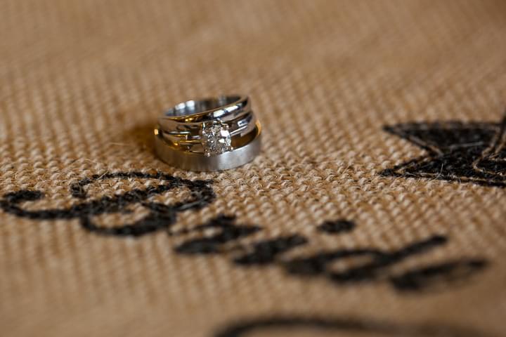 obrączki białe złoto zdjęcie