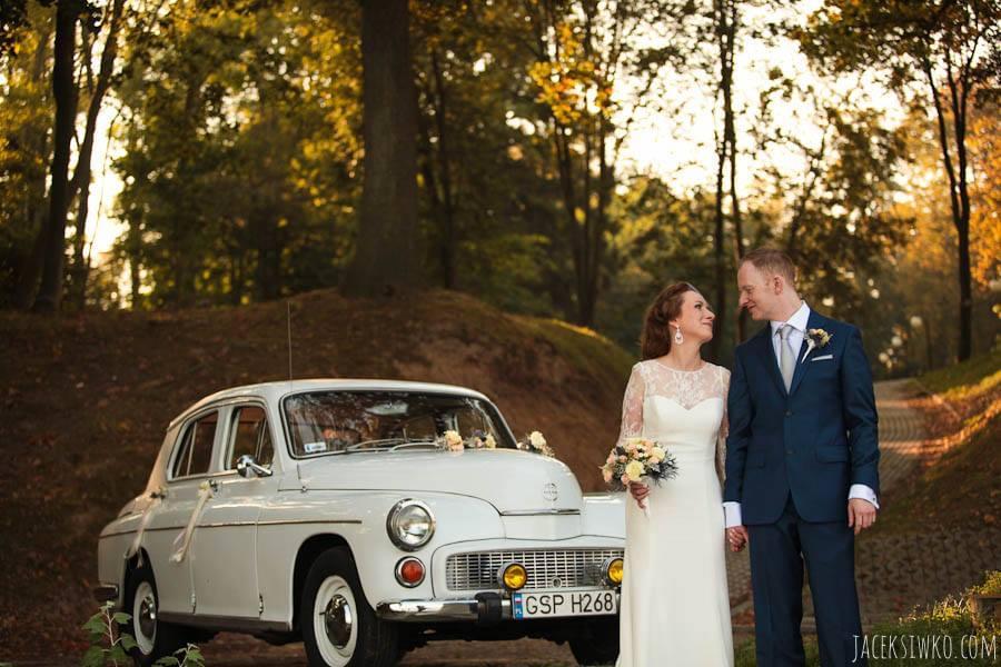 ola sean jesienny ślub gdynia