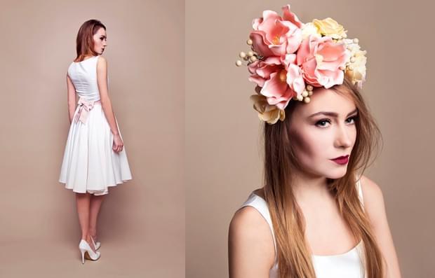 opaska-ślubna-kwiaty-zdjęcie