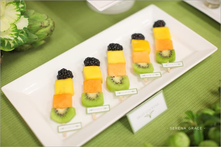 owocowy bufet inspiracje