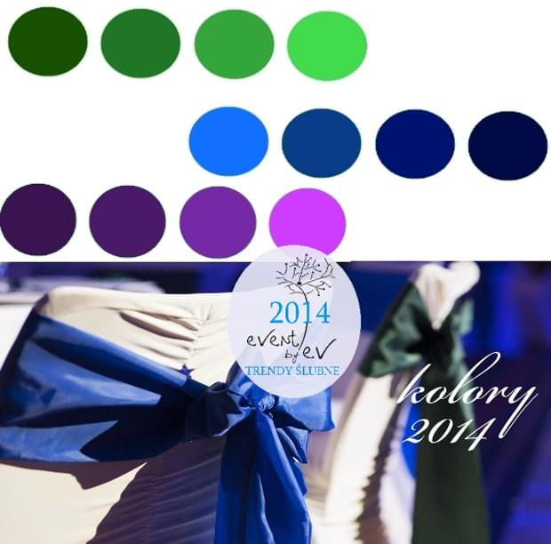 paleta kolorów ślubnych