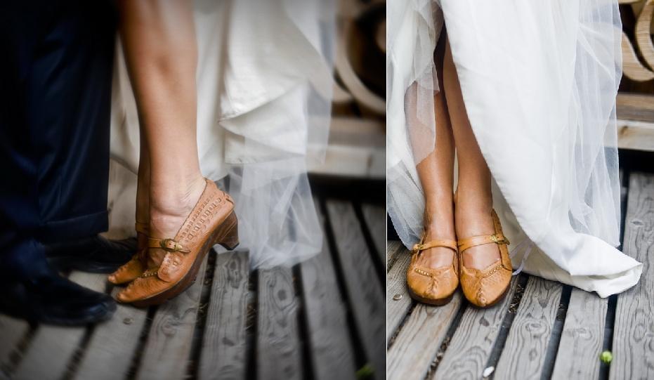 Suknia ślubna: Salon Pronuptia Paris, Kielce Koszula: Folk Design Aneta Larysa Knap
