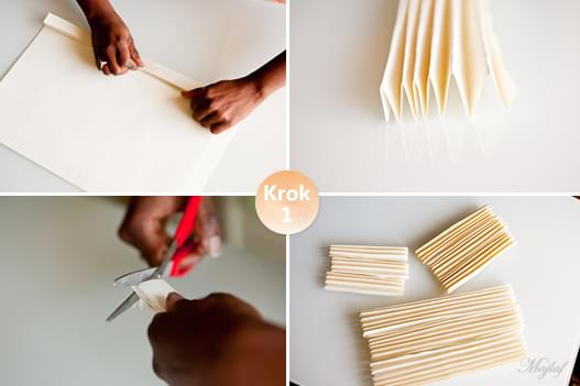 papierowe rozety zrób to sam pomysł inspiracje dekoracje diy