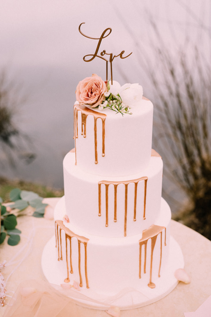 tort na wesele toper love