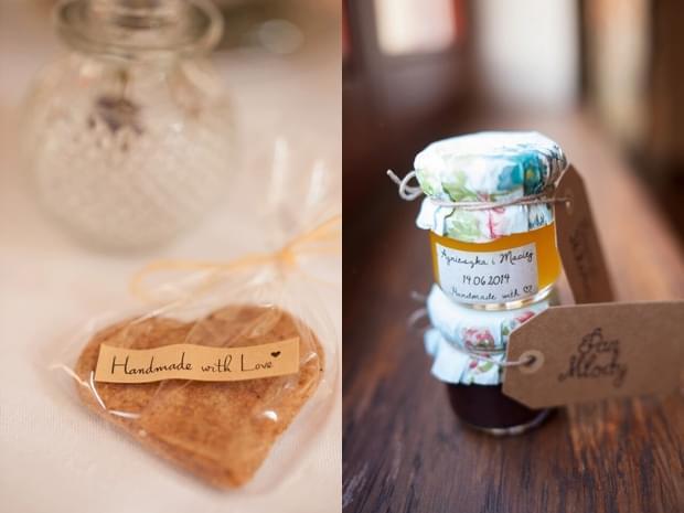 słoiczki z miodem na wesele zdjęcie