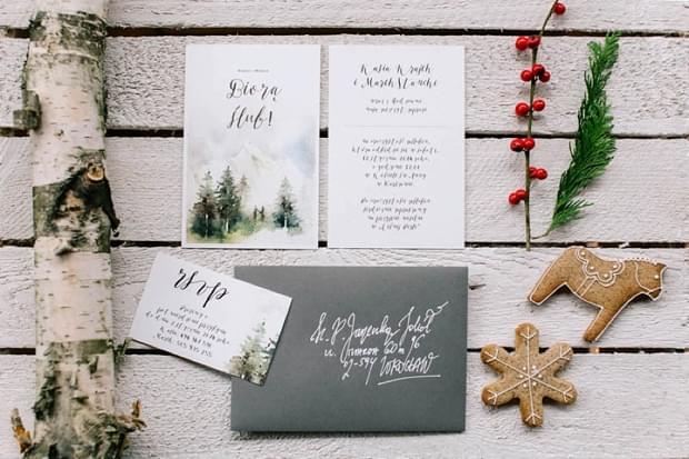 ślub wesele święta zima sesja stylizowana (0)