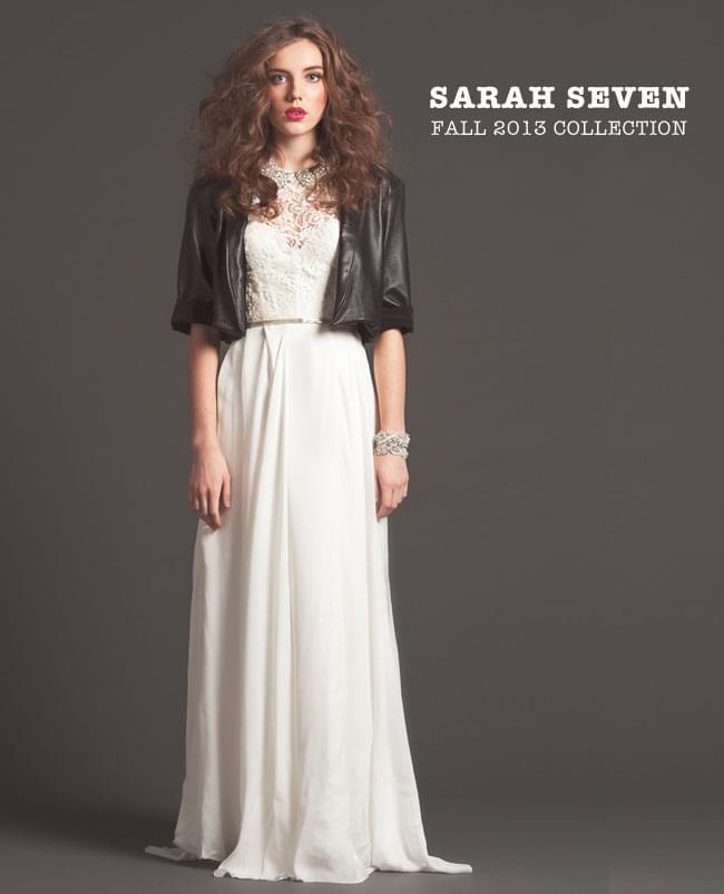 suknie ślubne jesień 2013 boho glamour trendy