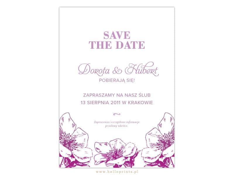 save the date pomysł