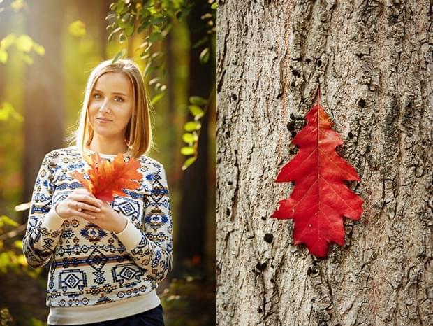 sesja jesienią