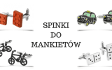 spinki do mankietów