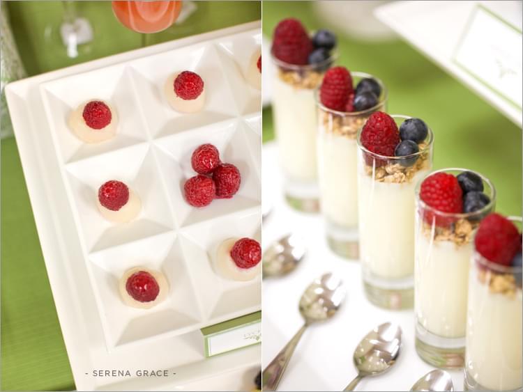 stół z deserami słodki stół wesele