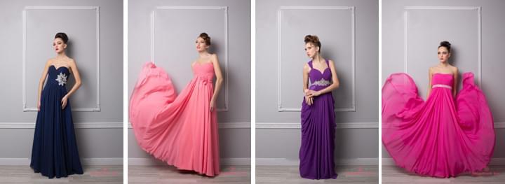 suknia dla świadkowej i druhny