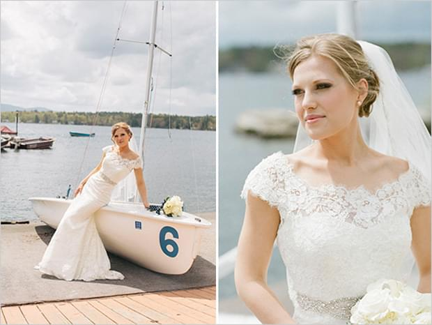 marynarski żeglarki ślub motyw przewodni