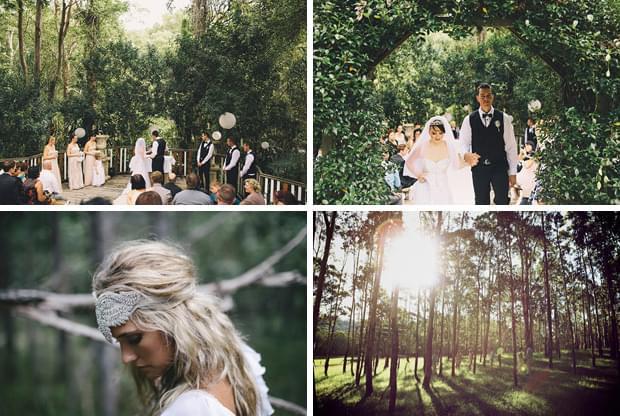 dekoracje wesele przewodni temat leas