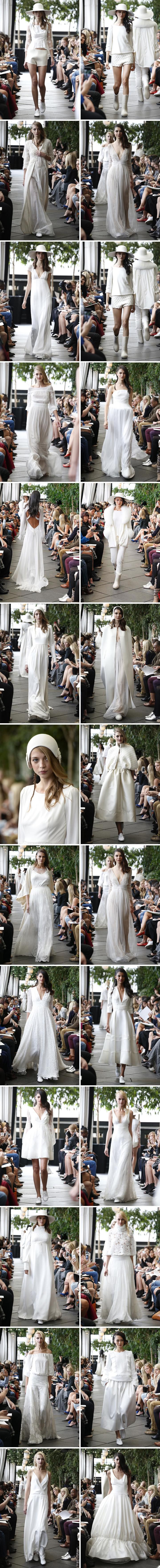 Delphine Manivet suknie ślubne 2015 kolekcja jesień