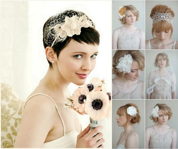 stroiki do włosów ślub zdjęcie