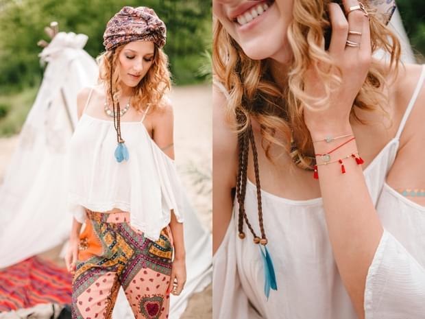stylizowana sesja narzeczeńska hippie zdjęcie (26)