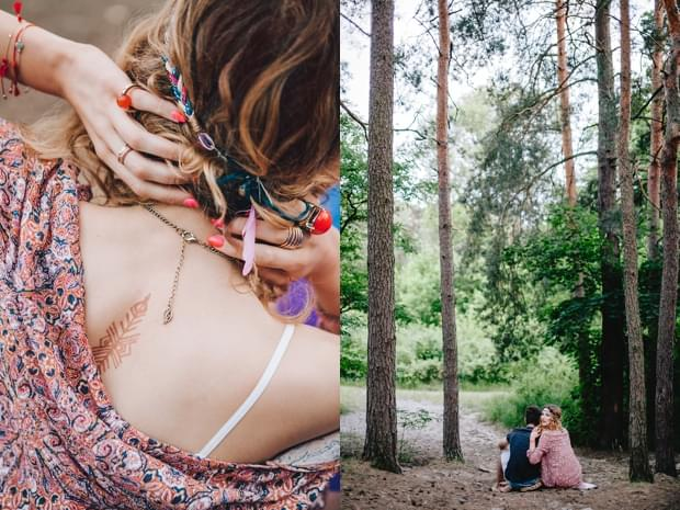 stylizowana sesja narzeczeńska hippie zdjęcie (40)