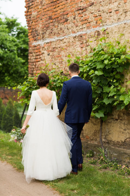 suknia ślubna tiul jacek siwko zdjęcie