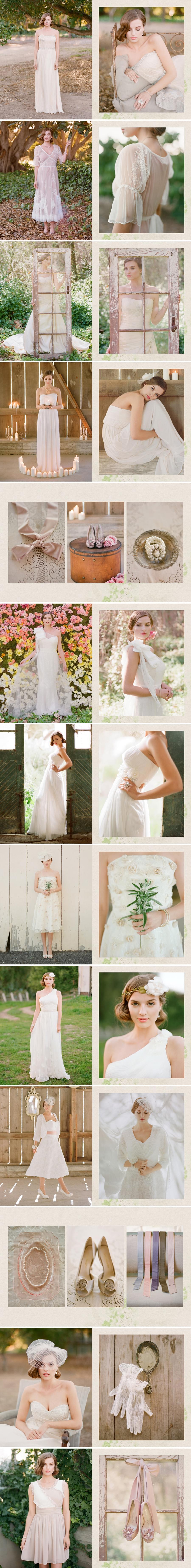 suknie ślubne sukienki krótkie ślubne zwiewne boho Ruche