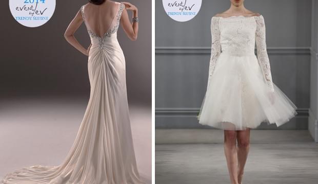 suknie ślubne trendy 2014