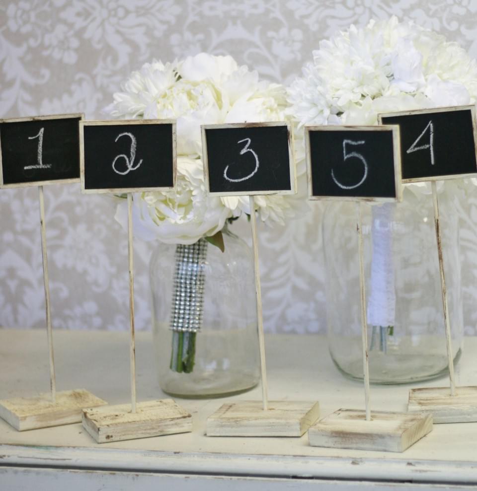 tabliczki kredowe numery stołów
