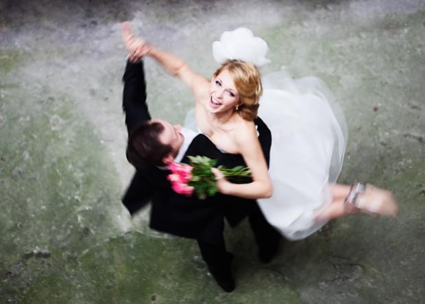 taniec para młoda zdjęcie