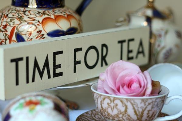 czas na herbate wesele