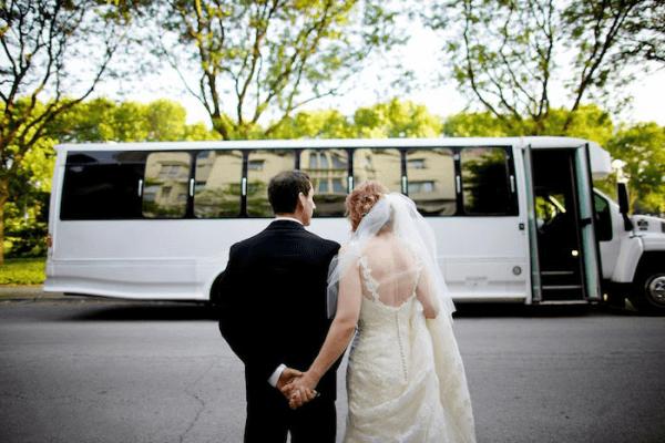 transport gości na wesele