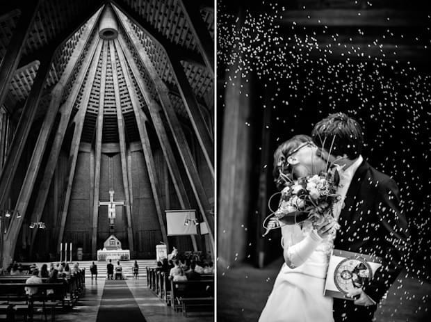 zdjęcie ślubne ceremonia kościelna