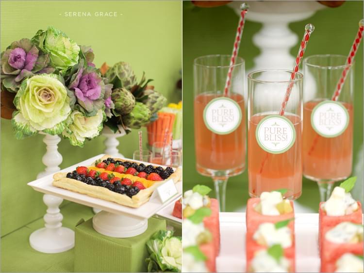 wegetariańskie wesele pomysł na słodki stół i przekąski