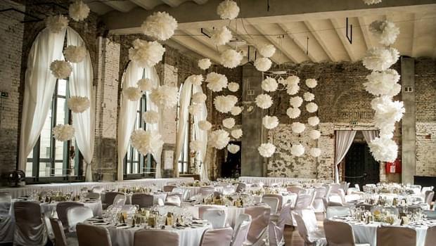 wesele w industrialnym miejscu warszawa polska