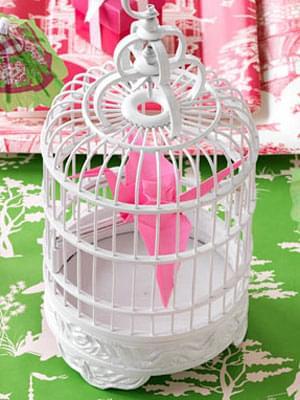 klatka ślub wesele dekoracje origami