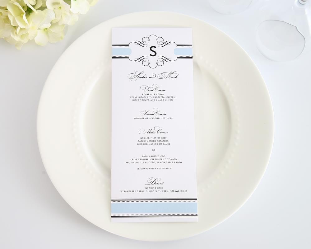 zaproszenia slubne manu slubne papeteria slubna błękitne niebieskie inspiracje blog ślubny konsultantka