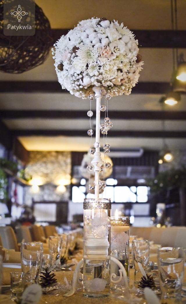 zimowe wesele dekoracje (5)