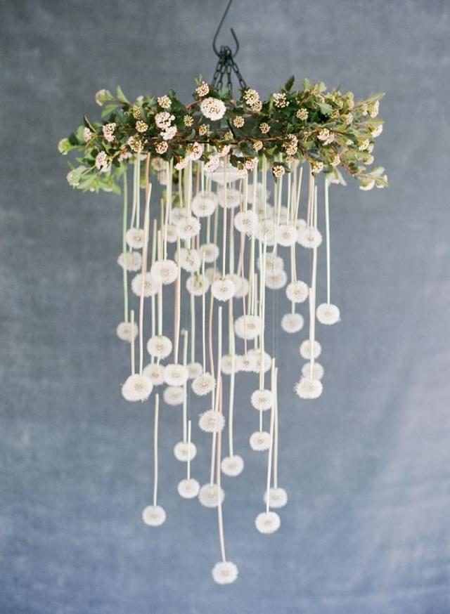 żyrandole dekoracja wesele zdjęcia