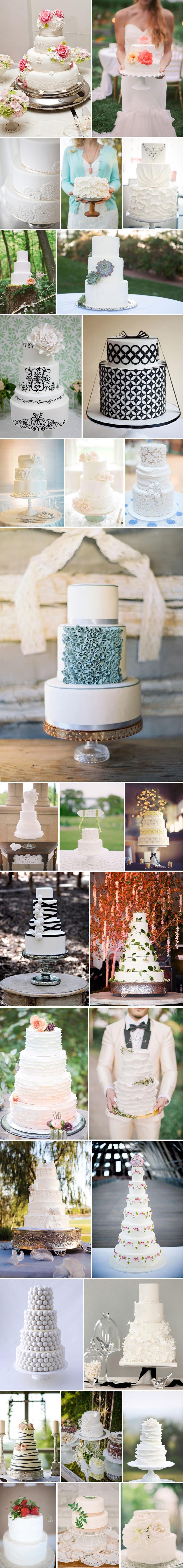 1 torty ślubne artystyczne białe